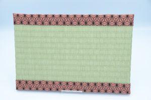 ミニ畳(中)樹脂表xあさぎりピンク
